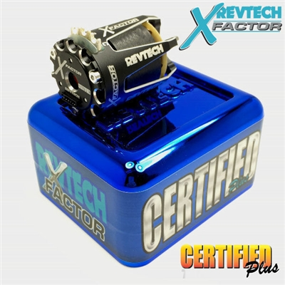 Revtech X-Factor 17.5T Certified Plus SPEC 1-Cell On-Road Brushless Motor