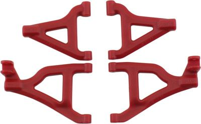 RPM 1/16 Slash Front Arms, Red (4)