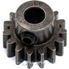 Robinson Racing Pinion Gear-15 Tooth, 1.0 Mod 5mm Bore Extra Hard