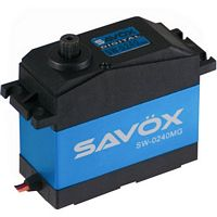 Savox 1/5th Scale Waterproof Servo, 486 oz/in, .15 sec.