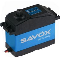 Savox 1/5th Scale Waterproof Servo, 555 oz/in, .17 sec.