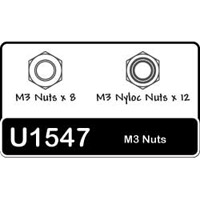 Schumacher 3mm Nuts