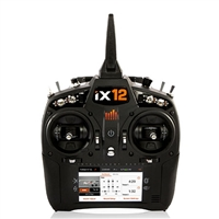 Spektrum iX12 12-channel DSMX Radio System with AR9030T Telemetry Receiver