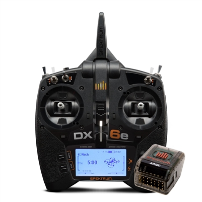 Spektrum DX6e 6-channel 2.4Ghz Radio System with AR620 Receiver
