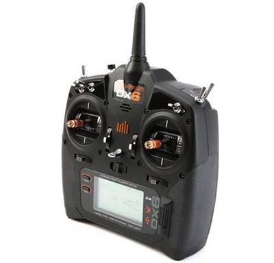 Spektrum DX6 6 channel Radio System with AR610 Receiver