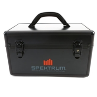 Spektrum DSMR Transmitter Case, black aluminum