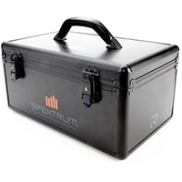 Spektrum DX6R Transmitter Case, black aluminum
