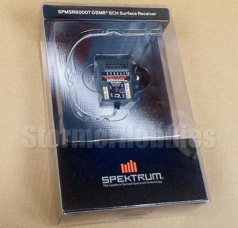 Spektrum SR6000T 6-channel DSMR Slim Surface Receiver with telemetry