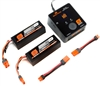 Spektrum Smart Powerstage Charger Bundle 6S (2 - 3S 5000mah Lipo batteries)