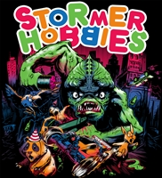 "Stormer Hobbies RC ""Party Crasher"" T-shirts, X-LARGE"