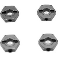 ST Racing Ten SCTE 2.0 Hex Adapters, Gunmetal Aluminum W/Pins (4)