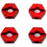 ST Racing Ten SCTE 2.0 Hex Adapters, Red Aluminum With Pins (4)