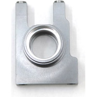 ST Racing Ten SCTE 2.0 Center Bulkhead, Gun Metal Gray Aluminum