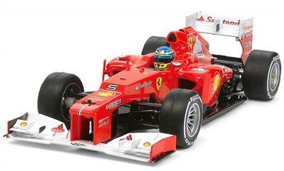Tamiya Ferrari F2012 F1 Racing Car Kit With F104w Chassis