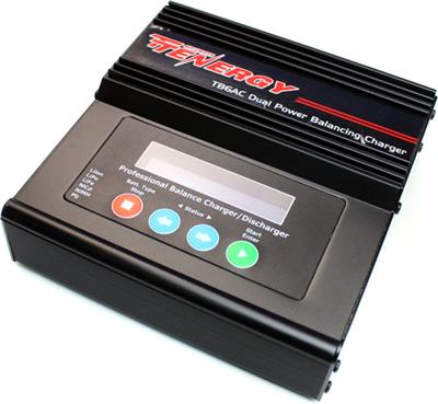 Tenergy Battery Tb6ac Intelligent Dual Power Balance Charger (lipo/nimh)