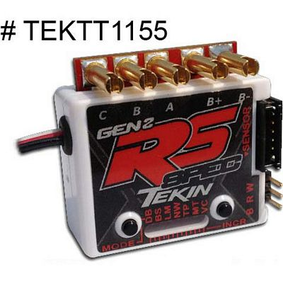 Tekin RS Gen2 Spec Esc For Sensored Or Sensorless Motors-Fwd / Rev