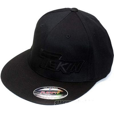 Tekin Stealth Black 210 Flexfit Hat, Small/Medium