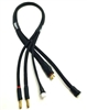 Team Epic 2S Pro Charge Cable w/ WSDeans Connector, black