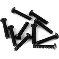 Tekno R/C M3 x 16mm Button Head Screws (10)