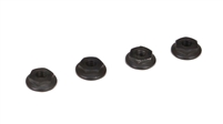 Losi 22-4 M4 Low Profile Serrated Nuts (4)