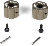 Losi 22SCT Rear Hex Hub, Aluminum +.75mm Offset (2)