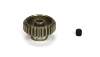 "Losi 27 tooth Aluminum Pinion Gear, 48 pitch for 1/8"" Motor Shaft"