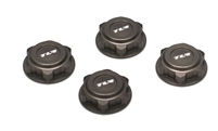 Losi 8/T 2.0 Covered 17mm Wheel Nuts, aluminum (4)
