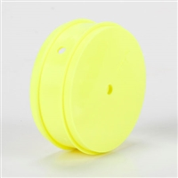 Losi 22 4.0/22 3.0 MM 61mm Front Rims-12mm hex, yellow (2)