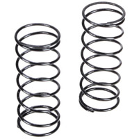 Losi 22T Front Shock Springs-4.1 Rate, black (2)