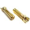 TQ Racing 4mm Bullet Battery Connectors, Narrow Top (2)