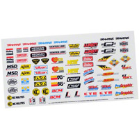 Traxxas Traxxas Racing Sponsers Decals
