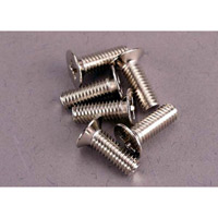 Traxxas 4 x 12mm Countersunk Hex Drive Machine Screws (6)