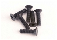 Traxxas 3 x 12mm Countersunk Machine Hex Drive Screws (6)