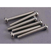Traxxas 3 x 23mm Roundhead Phillips Machine Screws (6)