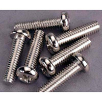 Traxxas 4 x 31mm Roundhead Machine Screws (6)