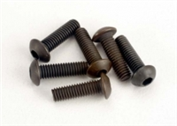 Traxxas 3 x 10mm Button Head Machine Hex Drive Screws (6)