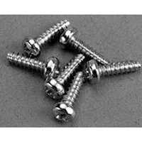 Traxxas 3 x 10mm Roundhead Screws, Self-Tapping (6)