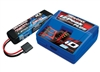 Traxxas EZ-Peak Plus charger with 7600mAh 7.4v 2S Lipo Battery (1)