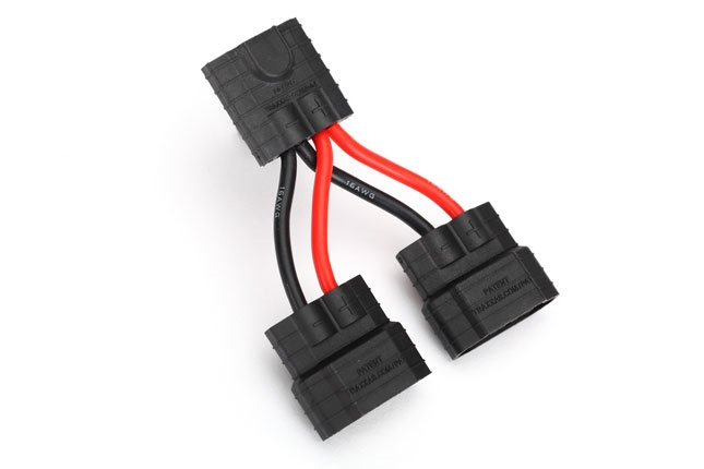 Tamiya Plug Y HARNESS  with MALE Adapters Run PARALLEL PACKS