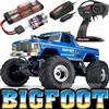 Traxxas Original Bigfoot Monster Truck RTR, blue