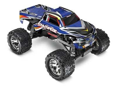 Traxxas Stampede RTR XL-5 Monster Truck with Blue ProGraphix Body
