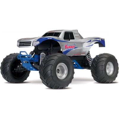 Traxxas Bigfoot Monster Truck RTR, Summit Racing silver