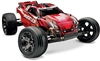 Traxxas Rustler VXL RTR 2wd Truck with Red ProGraphix Body