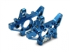 Traxxas Maxx Front Bulkheads, Left And Right-Blue Aluminum