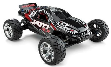 Traxxas Jato 3 3 RTR 2wd Nitro Stadium Truck with Red Body
