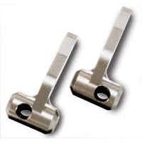 Traxxas Jato Steering Blocks-25 Degree Titanium Anodized Aluminum (2)
