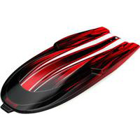 Traxxas Spartan Hatch Cover, Red Graphics