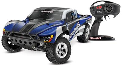 Traxxas Slash 2wd RTR SC Truck with Blue Body