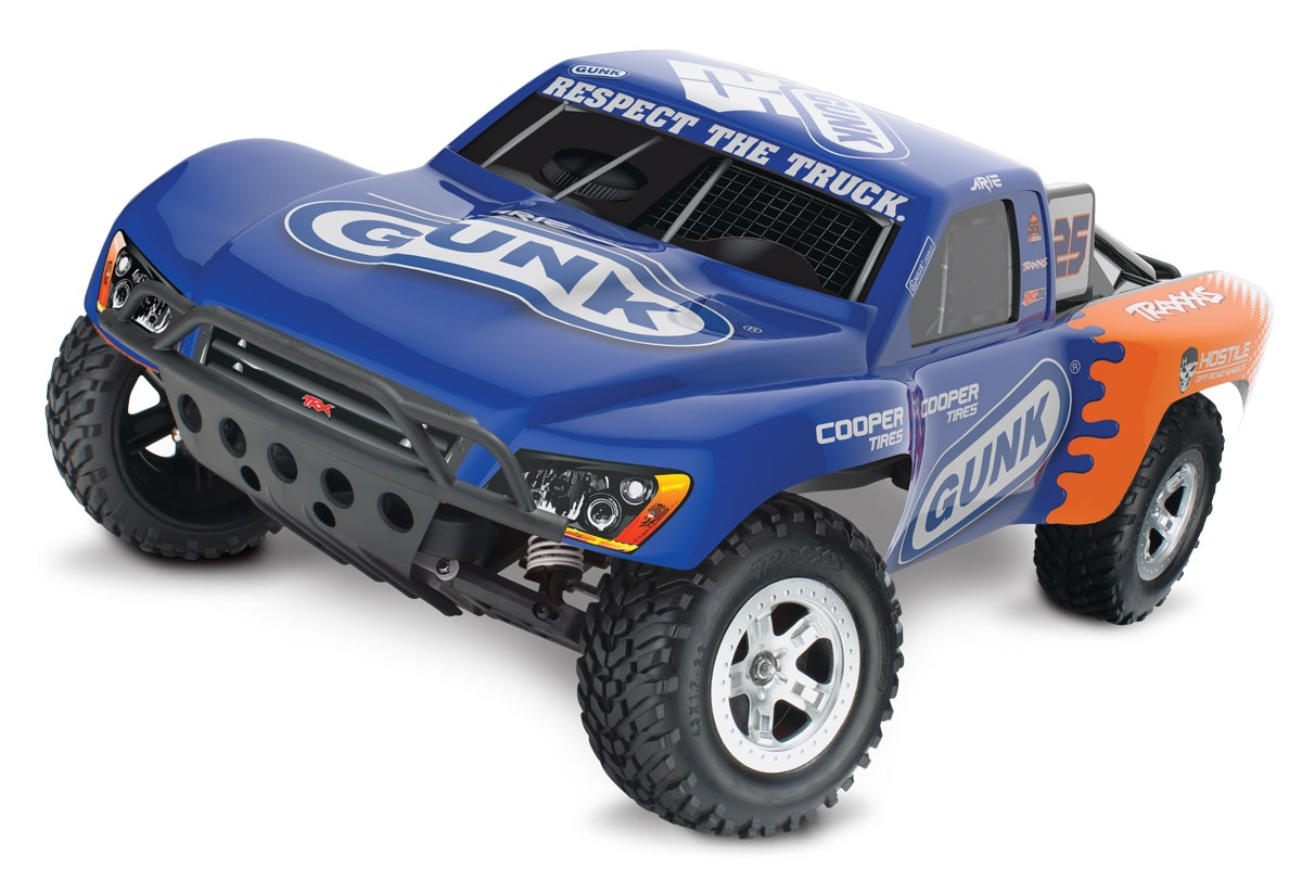 traxxas slash 2wd rtr sc truck with xl 5 esc and arie luyendyk jr Traxxas Blast traxxas slash 2wd rtr sc truck with xl 5 esc and arie luyendyk jr gunk edition 25 body