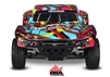 Traxxas Slash 2wd RTR SC Truck With On-Board Audio and Courtney Force Body